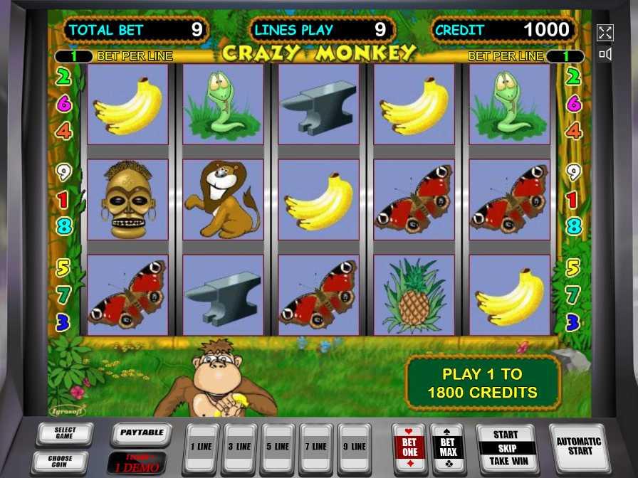 9/10/ · Игровой автомат Crazy Monkey Крейзи Манки или Обезьянка понравится своим юмором, большим количеством бонусных возможностей.Играть онлайн на игровых слот автоматах Крейзи манки можно уже сейчас в интернет казино 4٫9/5.