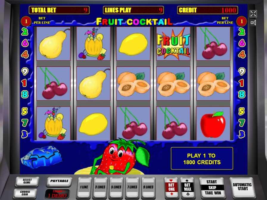 Игровые fruit cocktail автоматы скачать бесплатн игровые автоматы империя ацтеков играть онлайн бесплатно