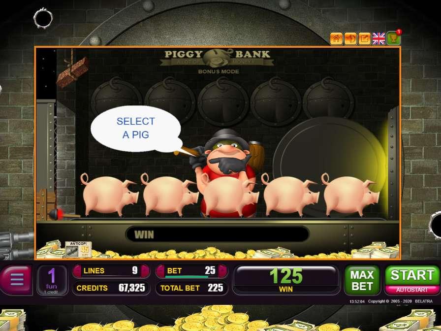 Piggy bank игровые автоматы играть бесплатно и без регистрации играть в карты онлай