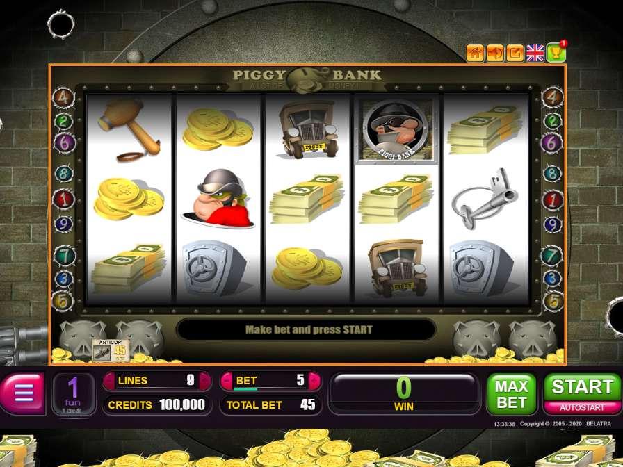Piggy bank игровой автомат играть бесплатно платные стратегии ставок