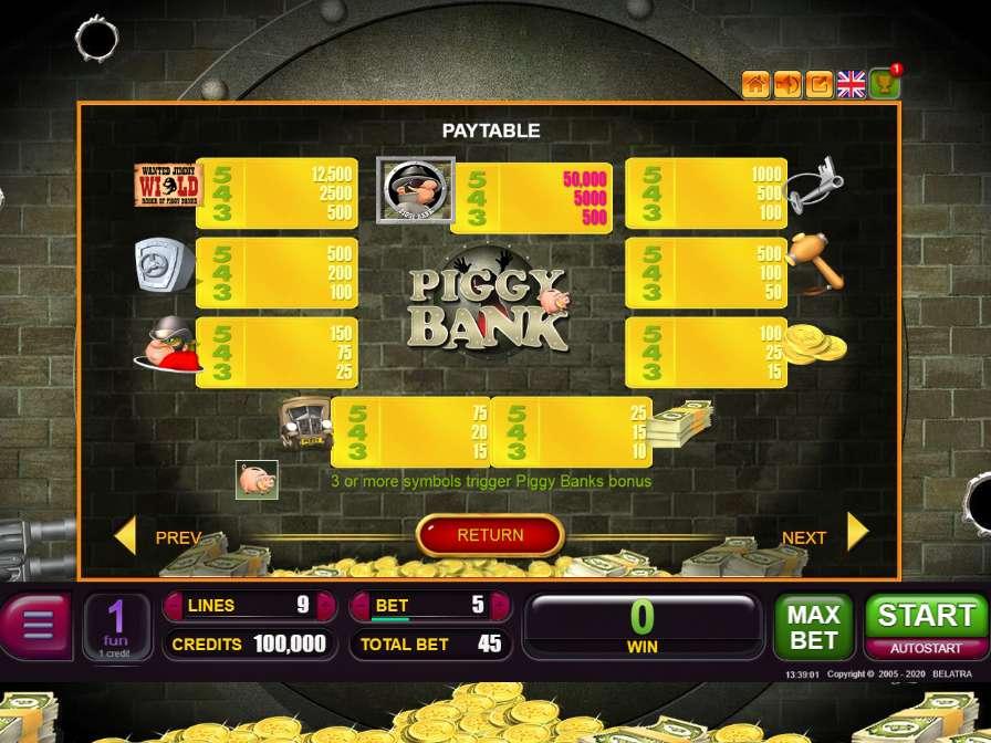 Piggy bank игровые автоматы играть бесплатно и без регистрации казино менеджер играть